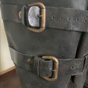 Steve Madden Shoes - Steve Madden Brihanna - Slouchy Black Boot